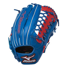 "Mizuno MVP Prime SE Series Baseball Glove 12.75"" Royal/Red GMVP1277PSE"