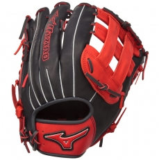 "Mizuno MVP PRIME SE Slowpitch Softball Glove 13"" Navy/Red GMVP1300PSES4"