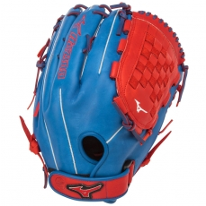 "Mizuno MVP PRIME SE Slowpitch Softball Glove 14"" Royal/Red GMVP1400PSES4"