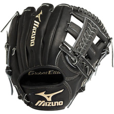 "CLOSEOUT Mizuno Global Elite VOP Baseball Glove 11.5"" GGE60VBK 311755"