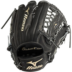 "Mizuno Global Elite VOP Baseball Glove 12.75"" GGE70VBK"