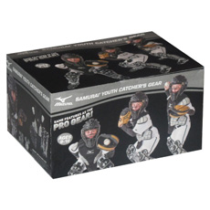 Mizuno Youth Samurai Box Set Catchers Gear Age 9-12 380222