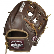 Nokona Walnut Baseball Glove WB-1175H 11.75""