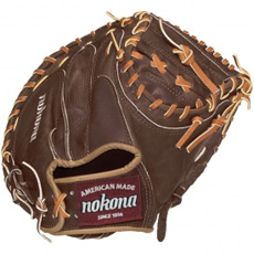 Nokona Walnut Catchers Mitt Baseball Glove WB-3200C 32""