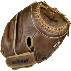 Nokona Walnut Fastpitch Softball Catchers Mitt CM275-W-CW (WF-3250C-WS-3250C) 32.5""