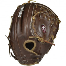 CLOSEOUT Nokona Walnut Softball Glove WS-1350 13.5""
