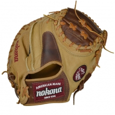 Nokona BC-3200 Buffalo Combo Catchers Mitt 32""