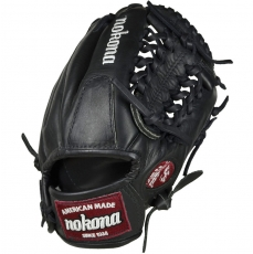 Nokona Bloodline Black Baseball Glove BL-1150 11.5""
