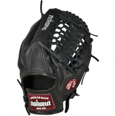 CLOSEOUT Nokona Bloodline Black Baseball Glove BL-1275M 12.75""