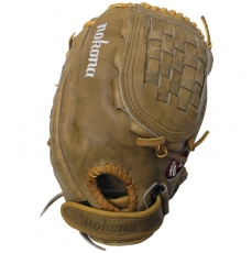 CLOSEOUT Nokona BTF-1200 Banana Tan Fastpitch Softball Glove 12""