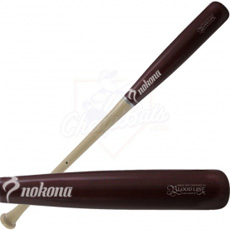 Nokona MB-243 Maple Wood Baseball Bat Bloodline Two-Tone
