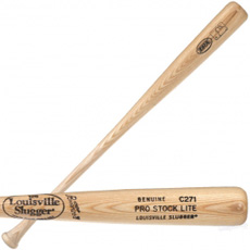 CLOSEOUT Louisville Slugger Natural Ash Wood Baseball Bat PLC271