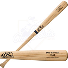 Rawlings Adult Pro Ash Wood Baseball Bat 334C