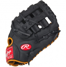 "CLOSEOUT Rawlings Gamer First Base Mitt Baseball Glove 12.5"" GFM18GT"