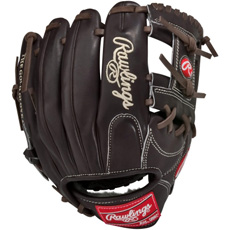 "CLOSEOUT Rawlings Mocha Pro Preferred Series Baseball Glove 11.25"" PROS88MO"