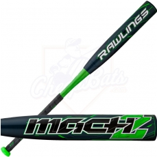 2015 Rawlings MACH 2 Youth Baseball Bat -10oz. YBRMC
