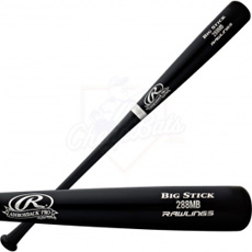 CLOSEOUT Rawlings Adirondack Pro Wood Baseball Bat 288MB