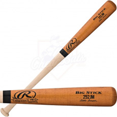 CLOSEOUT Rawlings Adirondack Pro Wood Baseball Bat Youth 252JMAP