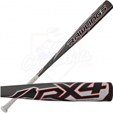 2014 Rawlings RX4 BBCOR Baseball Bat -3oz BBRX4