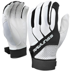 CLOSEOUT Rawlings Workhorse Batting Glove Youth (Pair) BGP1150TY