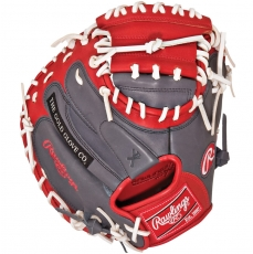 "Rawlings Gamer XLE Series Catchers Mitt 33"" GXLE2GSW"