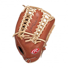 "CLOSEOUT Rawlings Pro Preferred Kip Baseball Glove 12.75"" PROS27TBR"