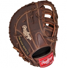"CLOSEOUT Rawlings Heart of the Hide Solid Core First Base Mitt 12.5"" PROFBSC"