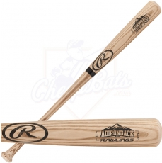 Rawlings R232A Adirondack Natural Ash Wood Baseball Bat