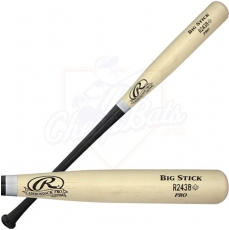 Rawlings Maple Ace Big Stick Wood Baseball Bat (Black Handle) R243MB