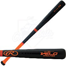 CLOSEOUT Rawlings Velo Ash Youth Wood Baseball Bat -7.5oz Y62V