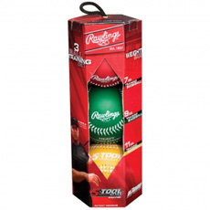 Rawlings 5-Tool Weighted Training Baseballs 5TWEIGHTBOX3