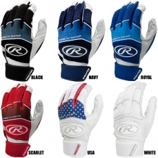 Rawlings Workhorse Batting Gloves (Adult Pair) WH950BG