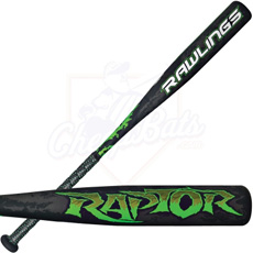 2013 Rawlings Raptor Youth Baseball Bat -11oz YBRAPW