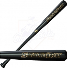 SouthBat 110 Guayaibi Wood Baseball Bat Black SB-110-BK