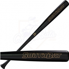 SouthBat 233 Guayaibi Wood Baseball Bat Black SB-233-BK