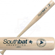 CLOSEOUT SouthBat Guayaibi Wood Baseball Bat Natural 271 Natural SB271-NAT
