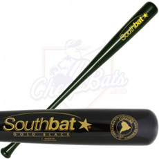 CLOSEOUT SouthBat Guayaibi Wood Baseball Bat 110 Black SB110-BK