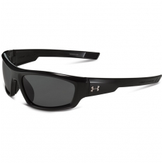 Under Armour POWER Sunglasses Shiny Black