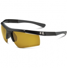 Under Armour CORE Sunglasses Shiny Black/Gray