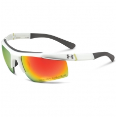 Under Armour CORE Sunglasses Shiny White/Gray