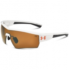 Under Armour FIRE Sunglasses White/Grey