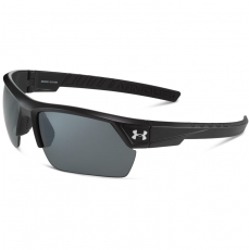 Under Armour IGNITER 2.0 Sunglasses Satin Black/Black with Gray Polar Lens