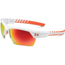Under Armour IGNITER 2.0 Sunglasses Shiny White/Orange