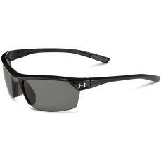 Under Armour ZONE 2.0 Sunglasses Shiny Black/Gray