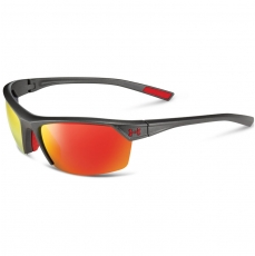 Under Armour ZONE 2.0 Sunglasses Satin Carbon/Red