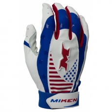 CLOSEOUT Miken Pro Batting Gloves (Adult Pair) MIKPRO