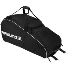 Rawlings Workhorse Wheeled Baseball or Softball Bag WHWB2
