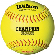 "Wilson ASA Champion Series Softball 12"" (1 Dozen) WTA9131BASA"