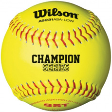 "Wilson ASA Champion Series Softball 11"" (1 Dozen) WTA9231BASA"