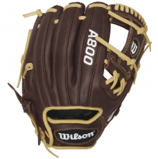 "Wilson A800 Showtime Pedroia Fit Baseball Glove 11.5"" WTA08RB16115PF"